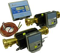 Лічильник тепла (теплосчетчик) СУПЕРКОМ-01 SKS-3 с ультразвуковым расходомером 2WR7 DN40 2-х канальный фланц.