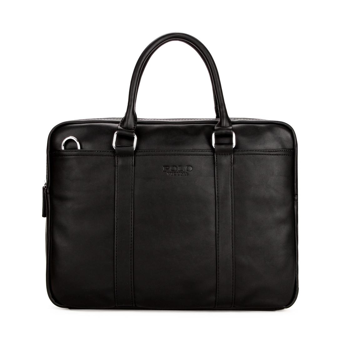 3e475897010c Мужская сумка POLO VICUNA черная (6610-4-BL): продажа, цена в Киеве ...
