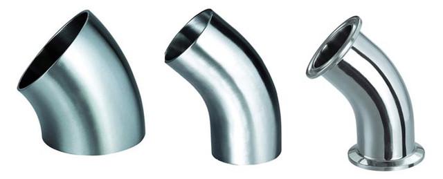 Отводы (колена), переходы из нержавеющей стали