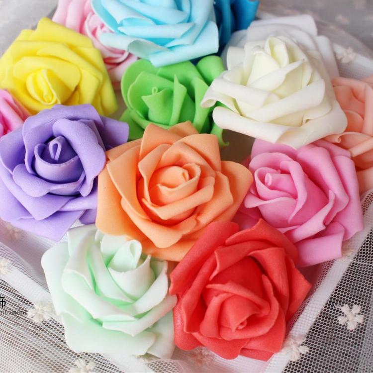 Розы искусственные 6шт/набор