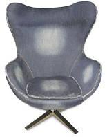 Кресло Egg CoolArt (джинсовая ткань)