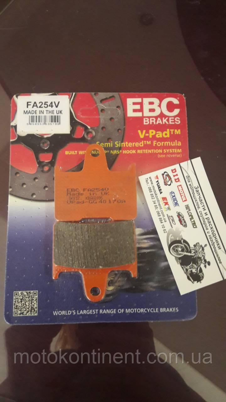 Мото колодки тормозные полусинтетика EBC FA254 HONDA CB,KAWASAKI EX / ZX,SUZUKI GSX-R