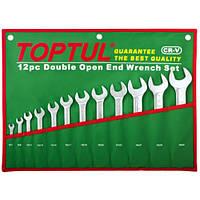 Набор рожковых ключей 12 шт. 6-32  TOPTUL GAAA1206
