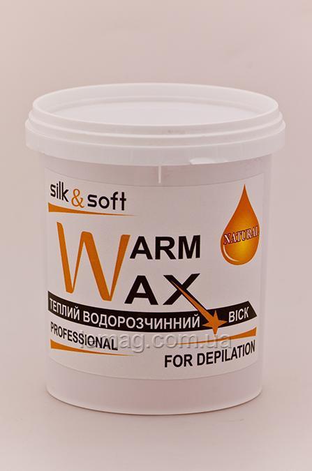 Silk&Soft WARM WAX Теплый воск Натурал, 500 гр