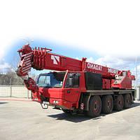 Услуги автокрана FAUN — 60 тонн по Харькову и Украине.