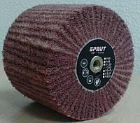 Круг Спрут-А лепестковый шлифовальный P180 КШЛ КЛ щетка из нетканного материала барабан Sprut