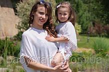 Пончо для девочек и их мам