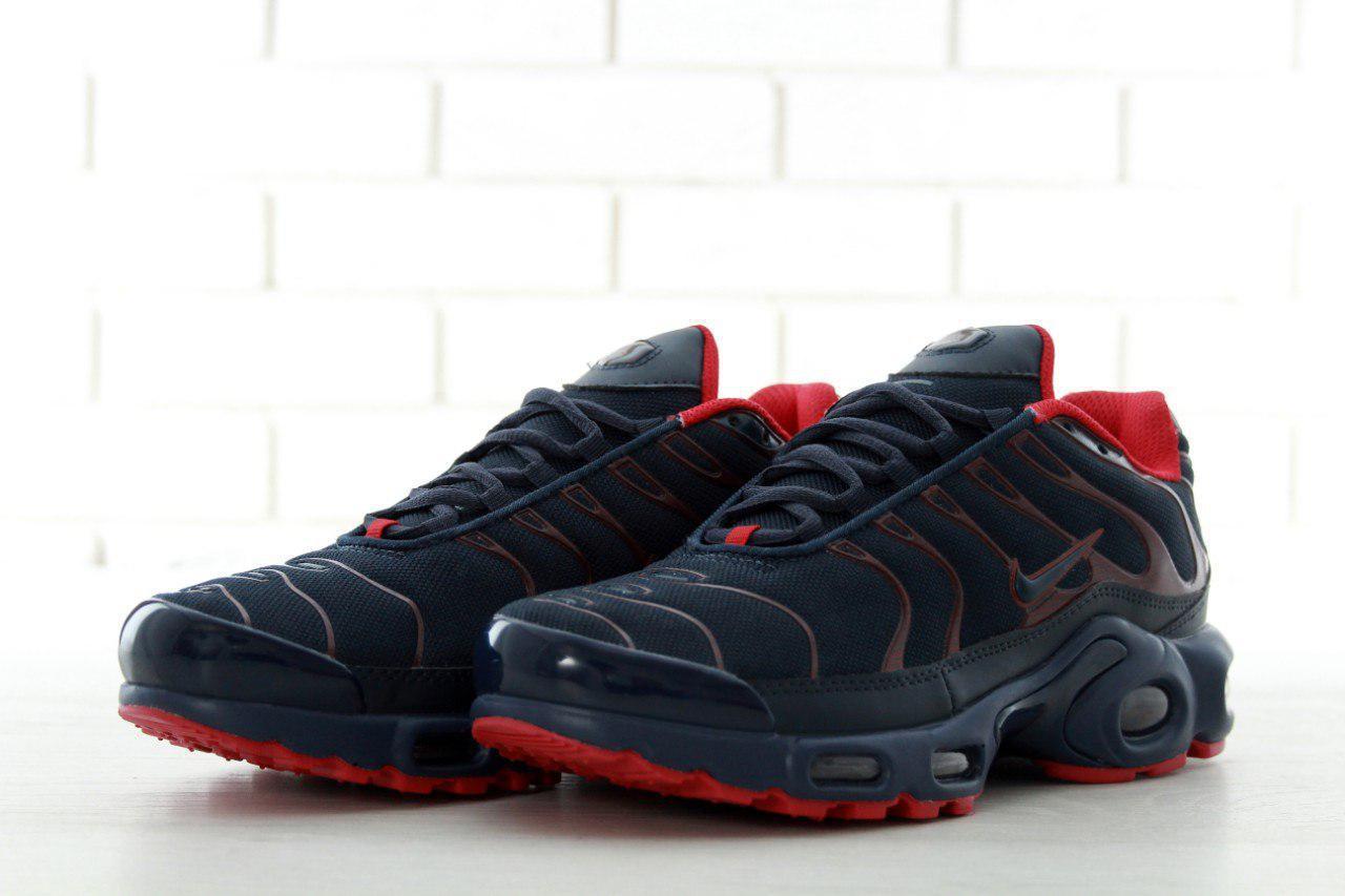 8bab095b Кроссовки мужские черные Nike Air Max TN Plus - Интернет-магазин