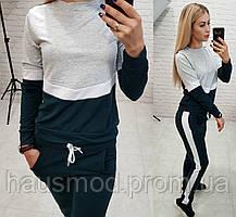 Новинка! комбинированный женский костюм двух нить бутылочный 42-44 44-46 46- b358b7a5a10