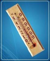 Термометр комнатный деревянный Д1