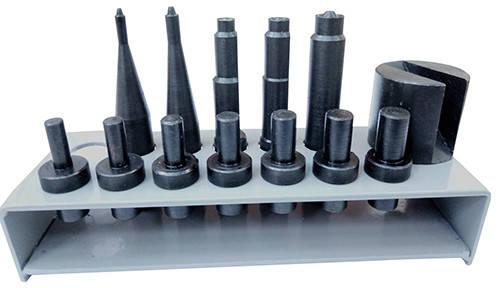 Набор насадок для заклёпочника пневматического для клёпки тормозных накладок (колодок)  NNZPTN, фото 2