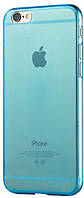 Чехол-накладка TOTO Ultra Thin TPU Case iPhone 6/6S Blue
