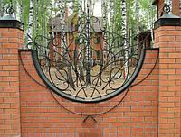 Красивый кованой забор, фото 1