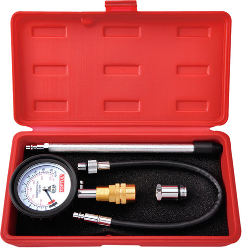 Компрессометр бензиновий зі змінними наконечниками TOPTUL JGAI0402