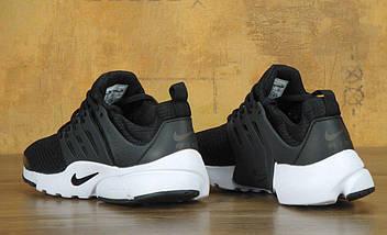 Мужские кроссовки в стиле Nike Air Presto Black/White, фото 3