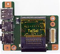 Плата USB, Audio, Cardreader   Lenovo B560 V560 ( 55.4JW03.001 )  бу