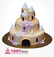 """Детский торт на заказ """"Сказочный замок"""""""
