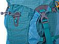 Туристический походный рюкзак 60-70 л. Onepolar W1632-biruza, фото 5