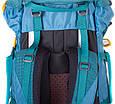 Туристический походный рюкзак 60-70 л. Onepolar W1632-biruza, фото 6