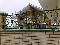 Кованый забор с пиками, фото 1