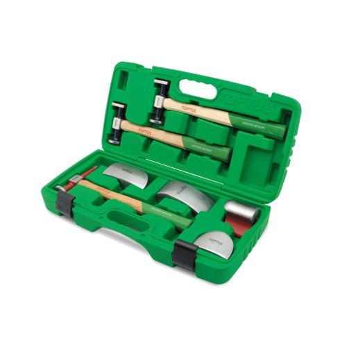 Набор рихтовочных приспособлений для ремонта кузова 7 ед.  TOPTUL GAAI0702