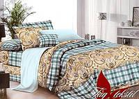 Комплект постельного белья 180х220 поликотон TAG XHY589