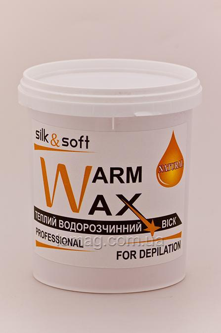 Silk&Soft WARM WAX Теплый воск Натурал, 800 гр