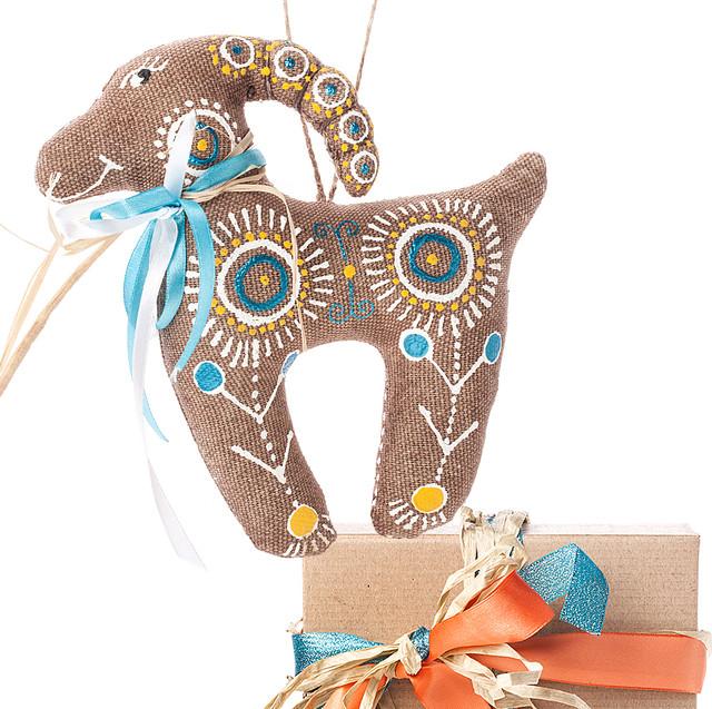 подарочный набор Коза ромашковая