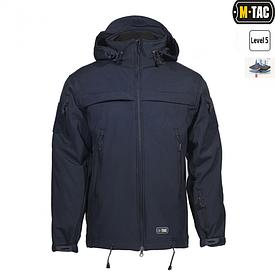 Куртка Softshell M-Tac Полиция темно-синяя