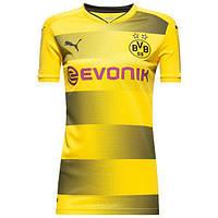 Женская футбольная футболка Боруссия Дортмунд домашняя (2017-2018), Puma,  Клуб, f7c65abd39a