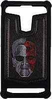 "Чехол-накладка TOTO Universal TPU case with image 5,5"" Terminator Black, фото 1"