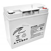 Батарея к ИБП Ritar AGM RT12200, 12V-20Ah (RT12200)