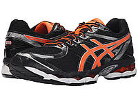 Мужские кроссовки ASICS Gel-Evate™ 3 Black Hot Orange Silver - Оригинал 66d8a557fee8c
