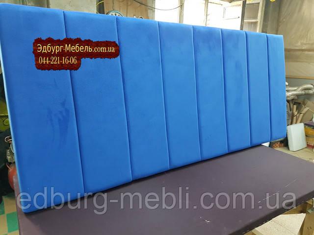 Стеновая панель мягкая велюр