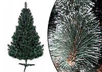 Тёмно-зеленая искусственная сосна «звёздочка», новогоднее дерево, высокое качество, размеры в ассортименте
