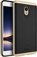 Чехол-накладка Ipaky TPU+PC Meizu M5 Note Black/Gold