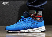 Мужские кроссовки Asics Onitsuka Tiger Shaw Runner Оригинал из США размер 12 US бег тренировоки синие Асикс