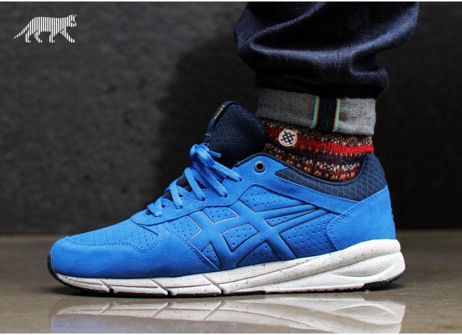 088f535b0c3218 Мужские кроссовки Asics Onitsuka Tiger Shaw Runner Оригинал из США размер  12 US бег тренировоки синие