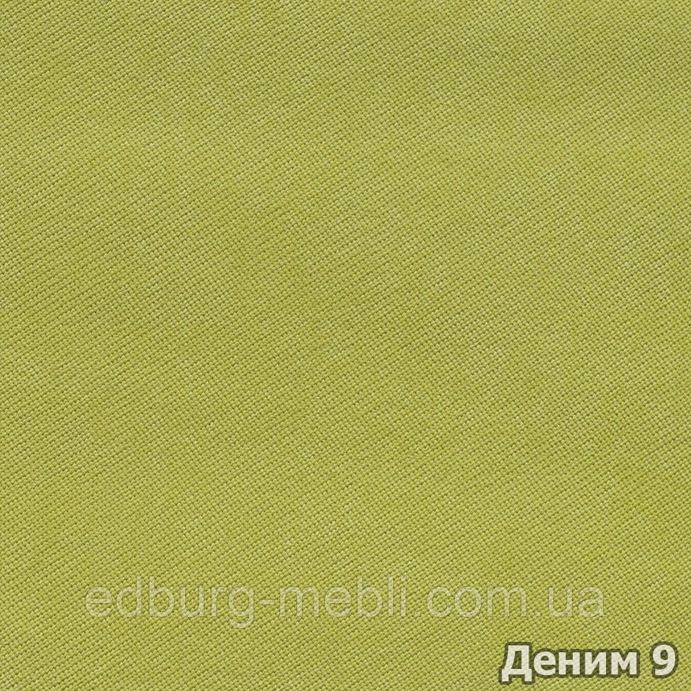 Велюр плетенный Деним