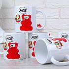 Чашки с желейным медведем Валерой