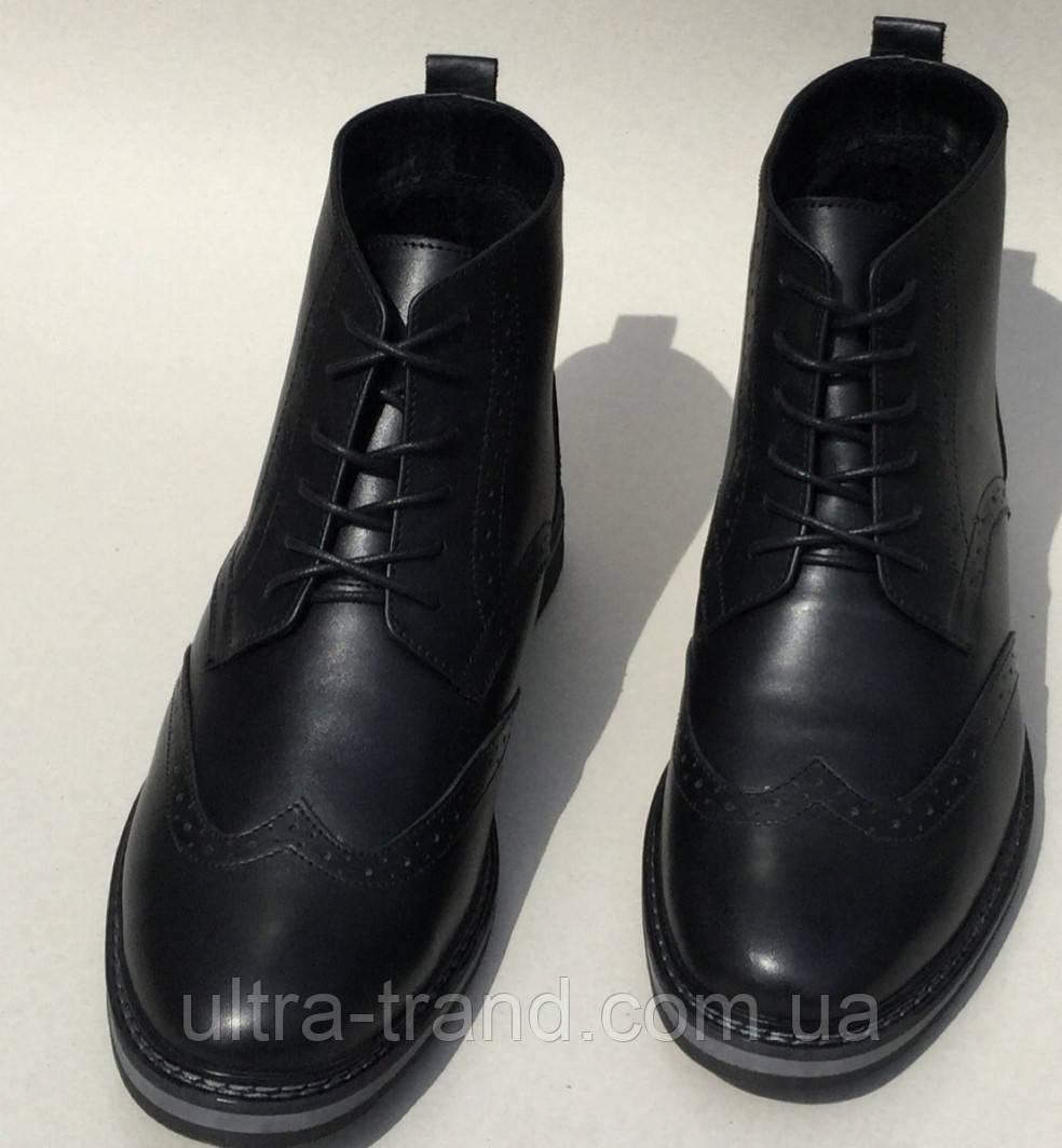 TODS реплика! мужские броги оксфорд на шнуровке натуральная кожа ботинки  демисезон 6fddb9146c24d