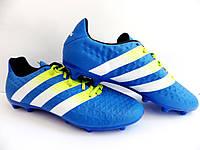 Бутсы Adidas ACE 16.3 FG/AG 100% Оригинал р-р 45 (29 см) (сток) original копы адидас, фото 1