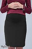 Юбка для беременных ALMA SK-38.011 черная, фото 2