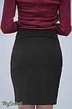 Юбка для беременных ALMA SK-38.011 черная, фото 4