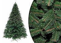 Новогодняя литая ёлка «премиум», густая крона, натуральный вид, высокое качество изготовления и материалов