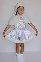 Костюм маскарадный для девочки Снежинка 3-6 лет, фото 1