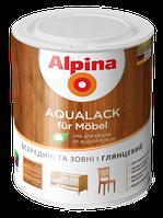 Акриловый лак Alpina Aqualack fur Mobel, 2.5л