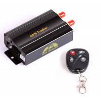 Автомобильный GPS трекер TK103B системы GPS / GSM / GPRS  с функцией блокировки двигателя и сигнализацией