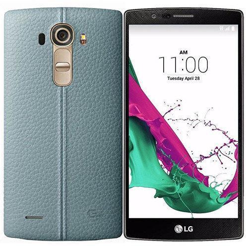 Смартфон LG H818 G4 Dual (Genuine Leather Blue)