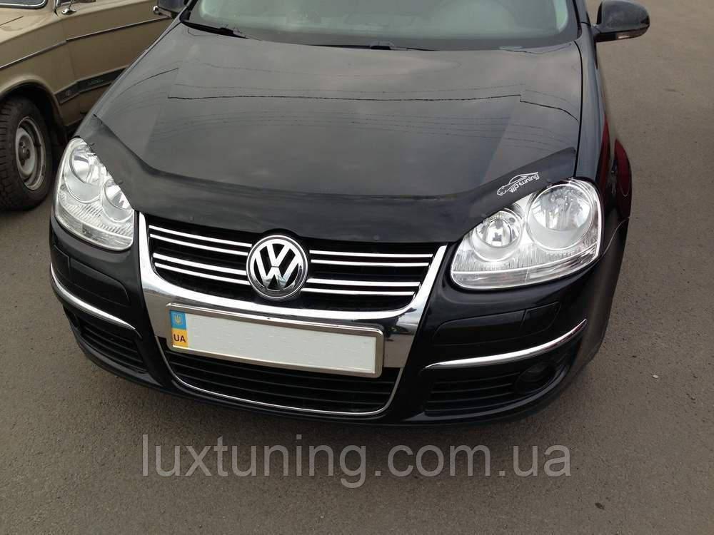 купить Дефлектор капота VIP TUNING Volkswagen Golf-5 с 2003-2008 г в : в  Украине цена